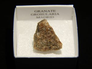 Granate grosularia de Madrid
