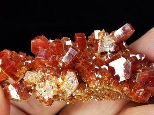 Mineral vanadinita de Marruecos
